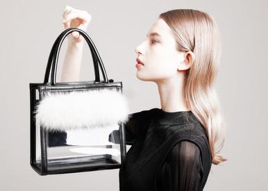 Clear PVC FOX Bag