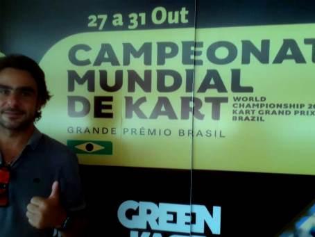Campeão Mundial de Kart esteve em Birigui e elogiou a estrutura do Speed Park