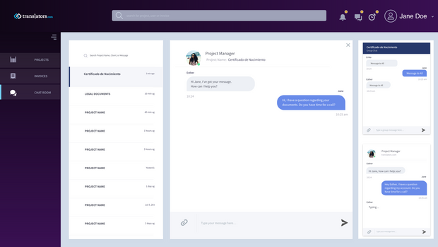 Client: Chat Room
