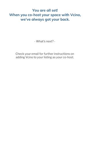 Create an account: Confirmation