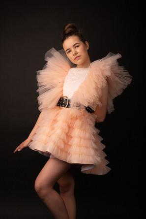 Confirmation-dress-Eire-peach-colour-Gig