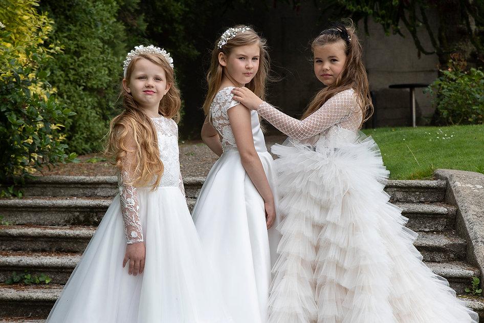 Holly communion dresses