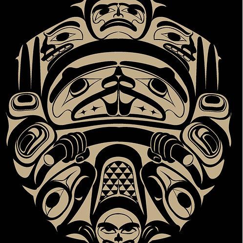 Haida Beaver: Organic Tee