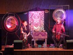 Candida and Michael Mongolian music