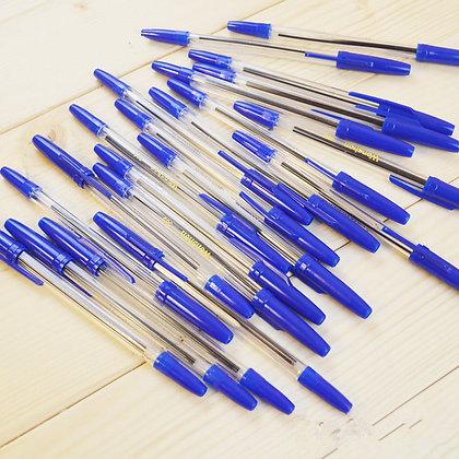 עט קריסטל פשוט 50 יח' בקופסא