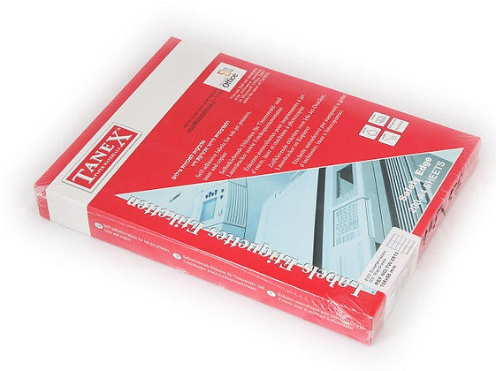 מדבקות למדפסת לייזר גדלים שונים - 200 דף בחבילה