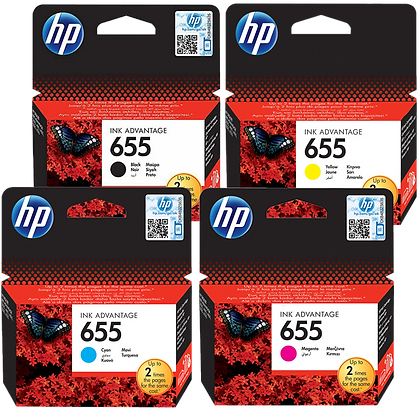 צבעוני מקורי C/M/Y HP 655