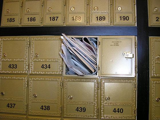 השכרת תיבות דואר