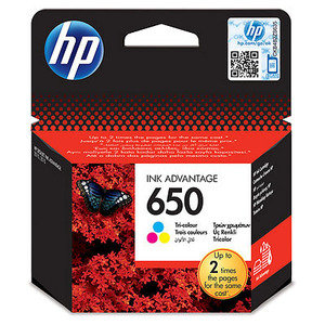 צבעוני מקורי HP 650