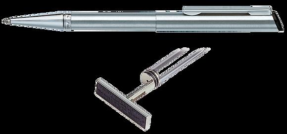 עט מתכת כסוף 3000