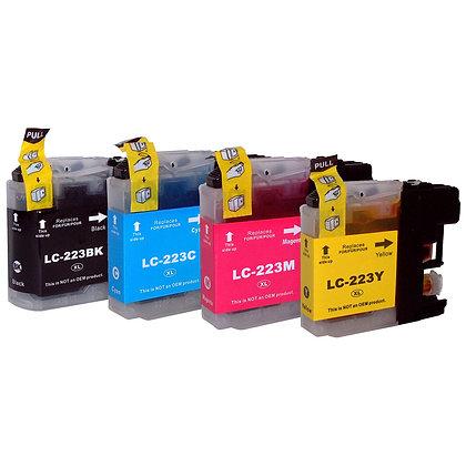 צבעוני חלופי ברדר LC 223 C/M/Y