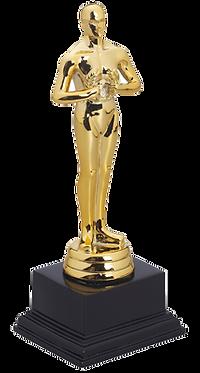 גביע הוקרה אוסקר קטן כולל הקדשה