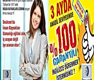 Adana En İyi İngilizce ve İnsan Kaynakları Kursu