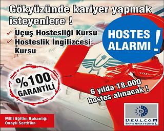 Adana Hosteslik Kursu