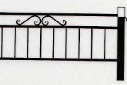Оградка №9