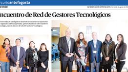 Encuentro Red Gestores Tecnológicos de Chile