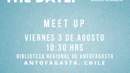 Save The Date: 3 de Agosto; Antofagasta!