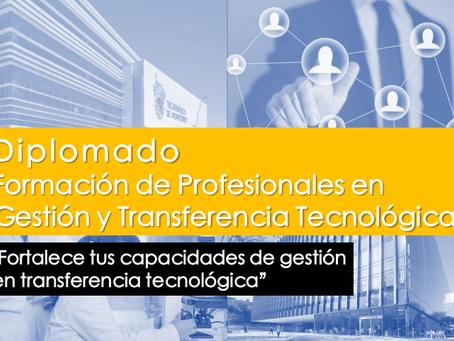 RedGT como miembro de TransfereciaAP invita a postular en Diplomado en Gestión y Tecnología