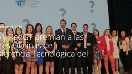 Corfo y RedGT, premian a las mejores Oficinas de Transferencia Tecnológica del país