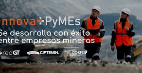 Innova+Pymes: Programa capacitación ejecutado por RedGT se desarrolla con éxito entre Pymes mineras