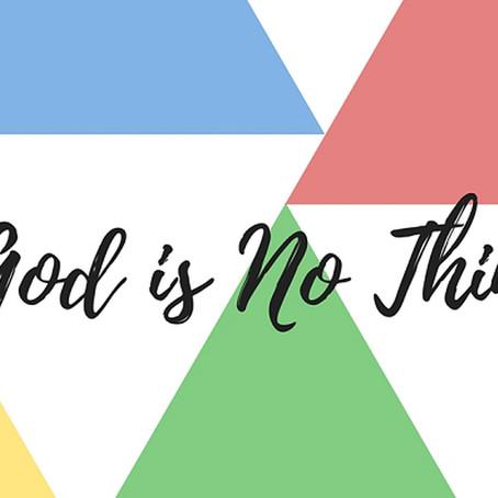 """Tanrı Bir """"Şey"""" Midir?"""