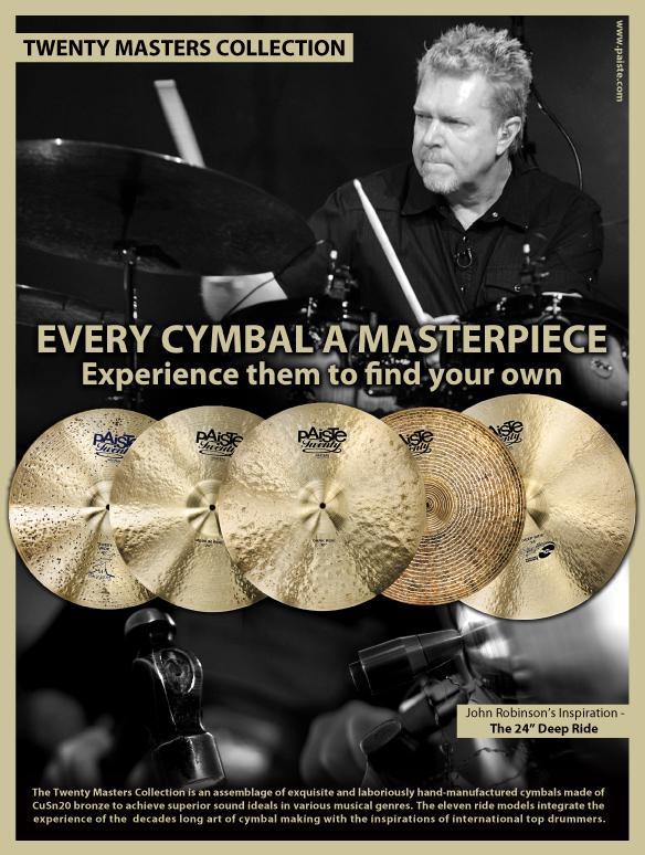 JR - PAISTE Cymbals