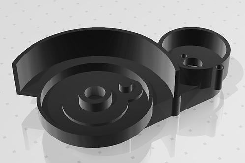 Корпус для робота пылесос Panda X500/Housing for robot vacuum cleaner Panda X500
