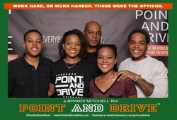 The first family The Nelsons at #PointAndDriveMovie
