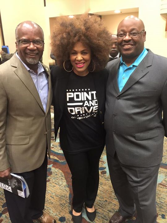 JSU- Dowell Taylor and Howard Band Director and one of my former high school band directors Kelvin W
