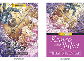 New Release! Romeo and Juliet / Tom Sawyer from Manga Classics