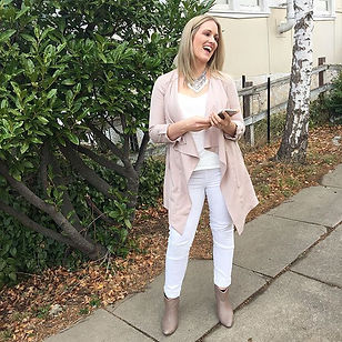 White jeans!! Can only wear to work as t
