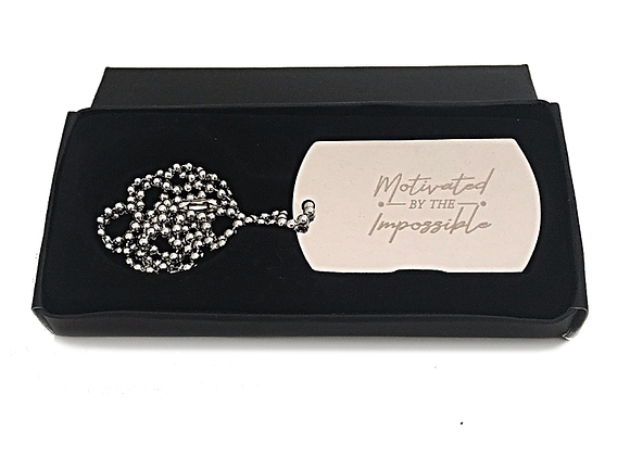 Motivated by the Impossible - Necklace