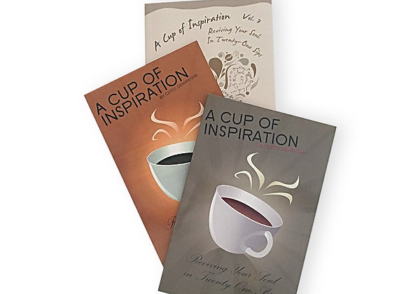 A Cup of Inspiration - Three Volumes by Ceitci Demirkova