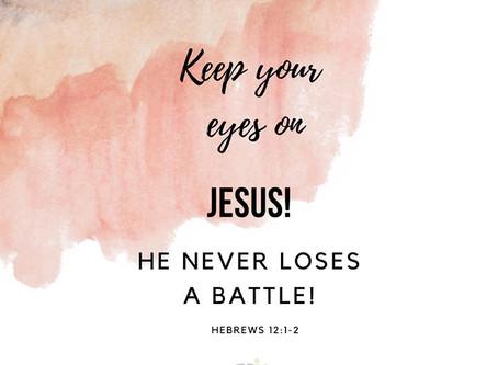 JESUS - YOUR GREATEST CHEERLEADER
