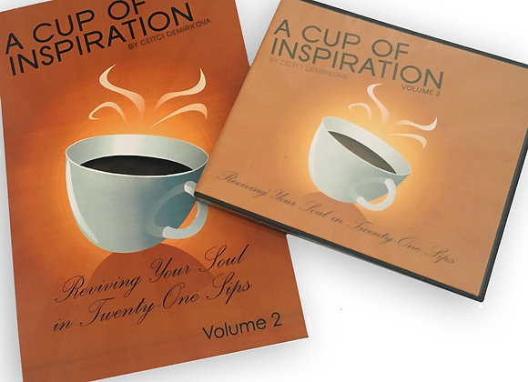 A Cup of Inspiration (Book & Audio book) - Volume 2 by Ceitci Demirkova