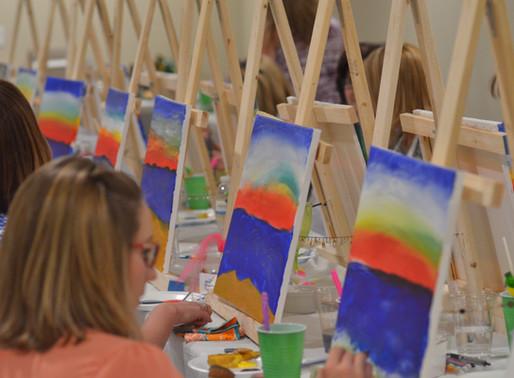 Learn to Paint - Beach Theme