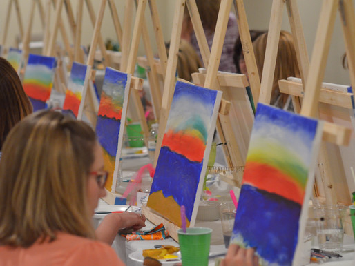 Learn to Paint - Beach Theme