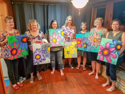 Learn to Paint - Accent Flowers