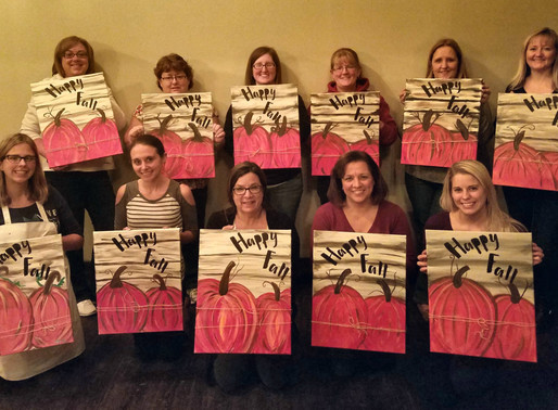 Learn to Paint- Rustic Pumpkin Patch