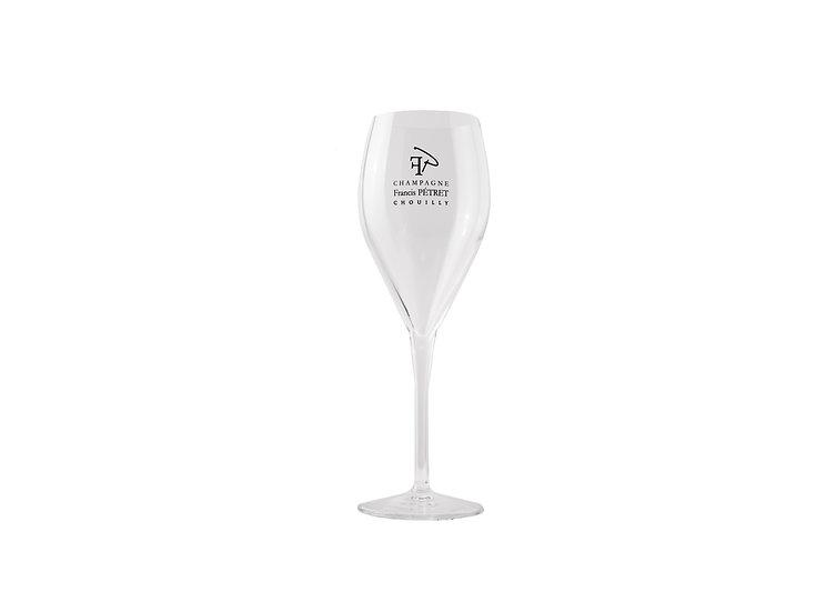 Lot de 6 Flûtes Champagne Francis Pétret