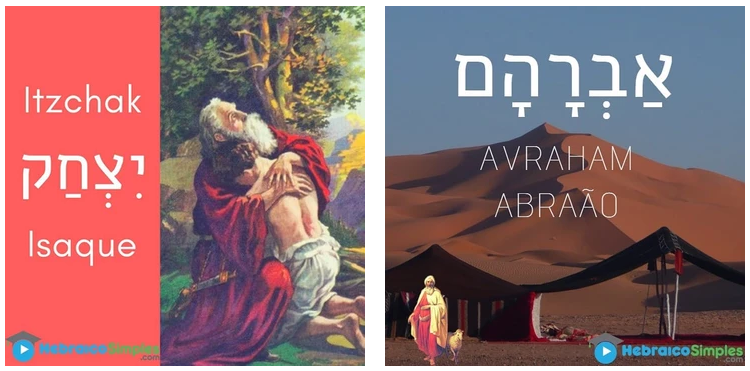 Isaque - Abraão