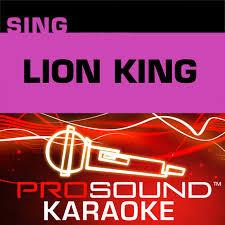 Lion King Karaoke