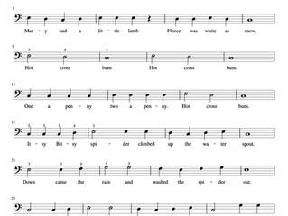 Piano Nursery Rhyme Arrangement