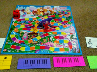 Candy Land Piano Game
