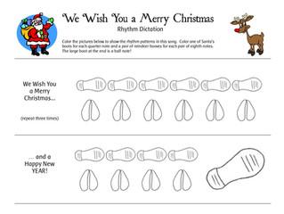 Christmas Ryhtym Dictation