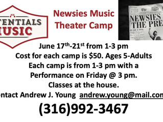 Newsies Music Theater Camp