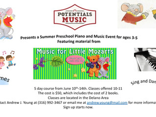 Summer Piano Camps