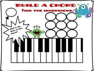 Chord Game Worksheet