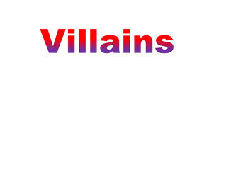 Heroes and Villains Event