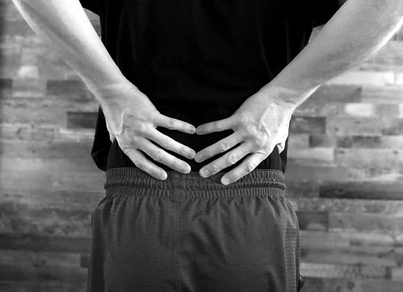 First Aid Relief - Lower Back
